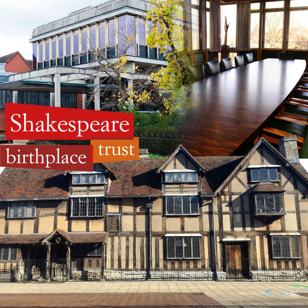 Live EGM webcast for the Shakespeare Birthplace Trust